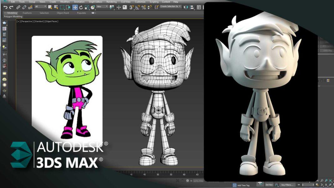 Modelar Personagem Mutano Jovens Titas 3ds Max Gfx Total